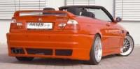 Rieger tuning Zadní nárazník BMW E46 r.v. 04.98-