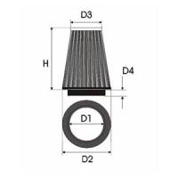 Sportovní filtr Green B M W SERIE 3 (E46) 318 i/Ci  výkon 105kW (143hp) typ motoru N42B20 rok výroby 01-