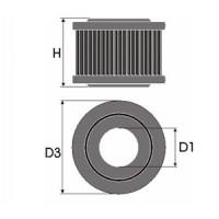 Sportovní filtr Green B M W SERIE 5 (E28) 518 výkon 66kW (90hp) typ motoru M10B18 rok výroby 81-84