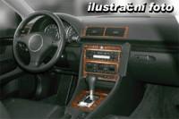 Decor interiéru BMW Z 3 -man. převodovka rok výroby od 04.99 -21 dílů přístrojova deska/ středová konsola