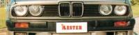 LESTER mračítka předních světlometů BMW 3 E30 -- do roku výroby -85