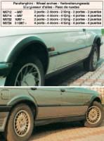 LESTER lemy blatníků BMW 3 E30 2dv. -- rok výroby 87-90