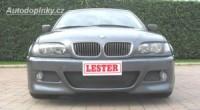 LESTER přední nárazník s mlhovými světlomety BMW 3 E46 sedan -- rok výroby 98-2004